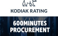 Kodiak Rating joins the festivities at 600 Minutes Procurement.