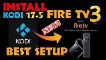 HOW TO INSTALL NEWEST KODI KRYPTON 17.5 ON NEW FIRE TV three