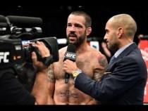 UFC Norfolk: Entrevista no octógono com Matt Brown