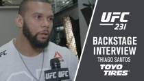 "UFC 231: Thiago Santos – ""I'm Very Robust, Very Pleased"""