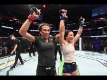 UFC Tampa: Entrevista no Octógono com Joanna Jedrzejczyk e Michelle Waterson