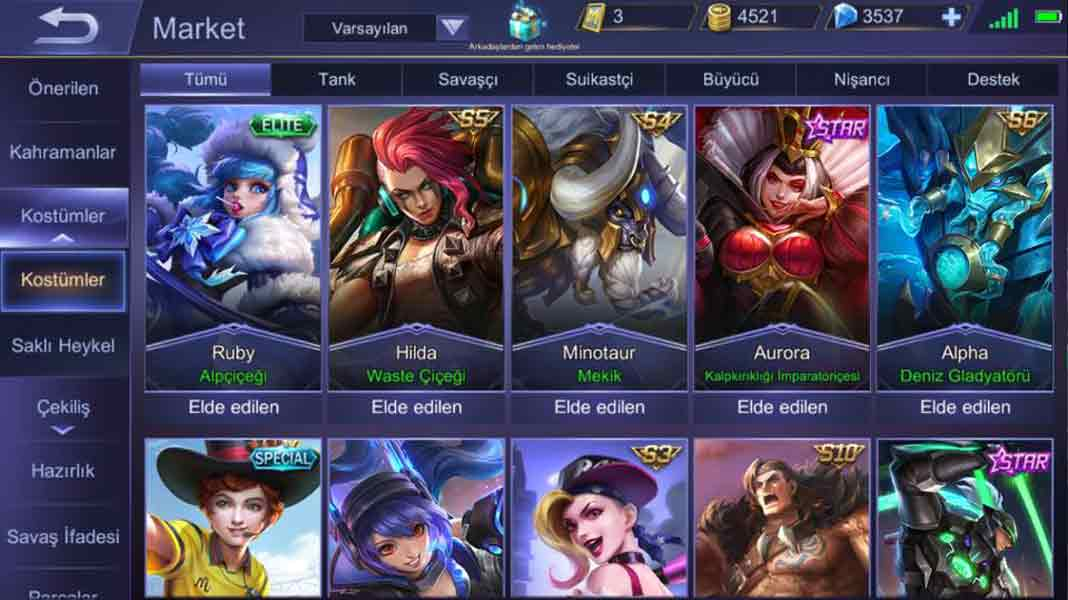 mobile legends hile 2020