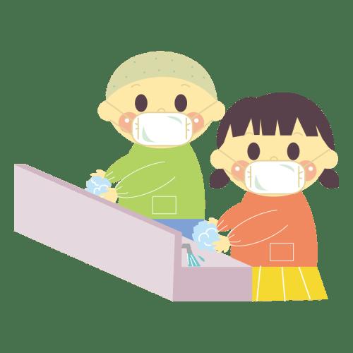 インフルエンザ予防 子供 かわいい イラスト フリー 無料