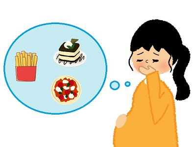 妊娠中の食べ物