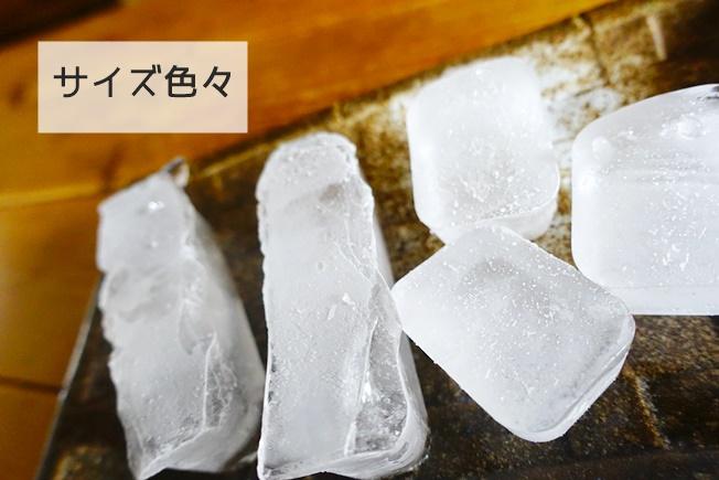 離乳食ストックに便利な蓋つき製氷皿のレビュー 出来上がりサイズイメージ