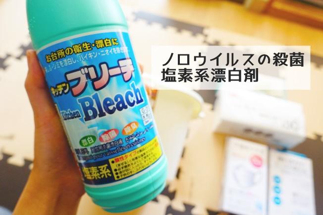 子供の下痢嘔吐時のために揃えておくと便利なもの 塩素系漂白剤