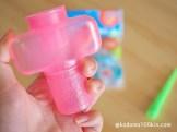 ダイソーしゃぼん液専用液がこぼれない容器 製品サイズイメージ