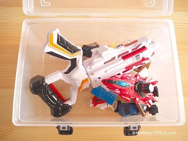 ダイソー シューズBOX 子供のおもちゃの収納