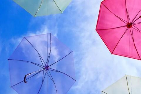 空と傘映像