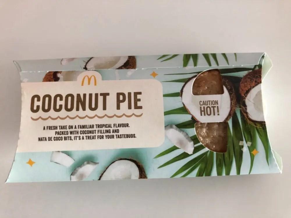 ココナッツパイパッケージ