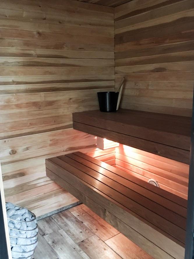 ise ehitatud saunalava