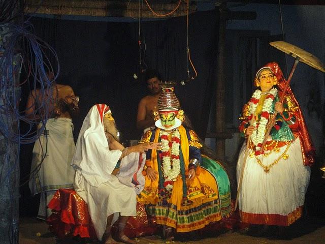 Kathakali, as part of Pathamudayam celebration in 2009