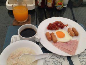 エスタテの朝食