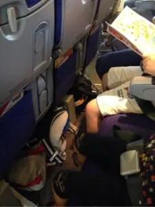 スクート航空の座席