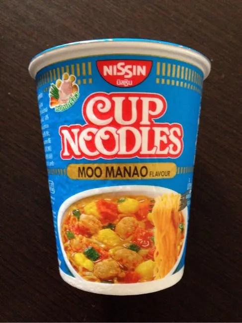 カップ麺をタイ土産にするなら『カップヌードル ムーマナオ味』がおすすめ!