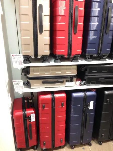 吉報!唯一の子連れ旅行者用スーツケース、値下げ!