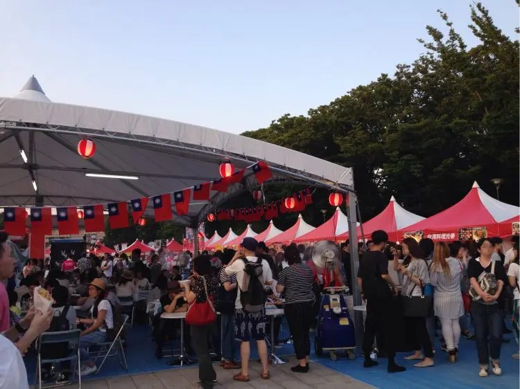 【2017年7月7日】上野の台湾祭りに行ってきました!