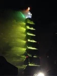 台北101年越し光のショー