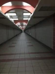 大橋頭駅地下通路