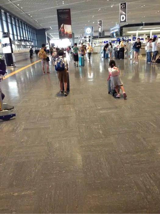 2017夏旅行記②【出発】空港バスで成田空港第一ターミナルへ