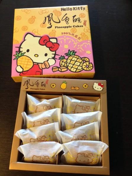 紅櫻花食品kittyパイナップルケーキ