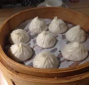 杭州小籠湯包の小籠包