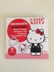 タイのお土産キティ絆創膏