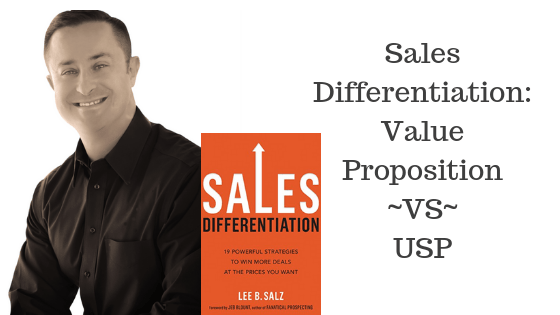 USP, Sales differentiation, Value Proposition, Differentiation, Unique Selling Proposition, CRM,