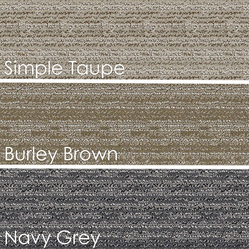 Kane Splurge Ultra Soft Area Rug Shagtacular Collection | Self Stick Carpet Stair Treads | Stair Nosing | Stairway | Anti Slip | Stick Bullnose Wraparound | Beaudoin Utility Peel