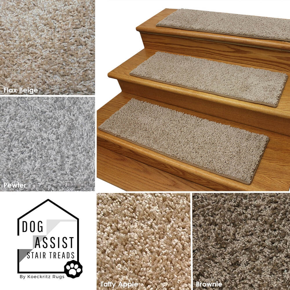 Tiger Eye Frieze Stair Treads Custom Size Stair Treads Cut To | Plush Carpet Stair Treads | True Bullnose Carpet | Super Soft | Anti Slip | Wool Carpet | Wall Carpet
