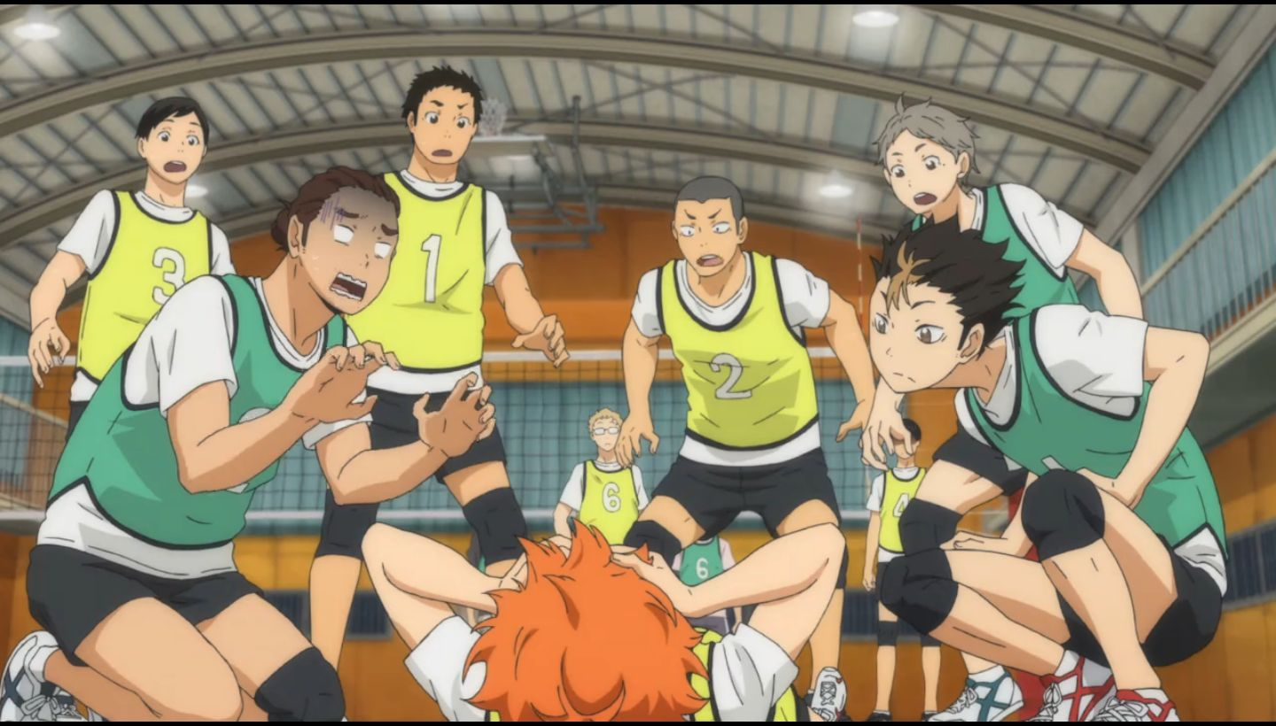 Haikyuu Episode 10   koekara
