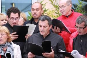 "Kammerchor singt ""Ode an die Freude"""