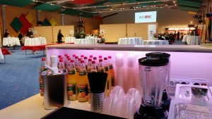 mobile Smoothie-bar Catering Isotec Tagung in Hohenroda