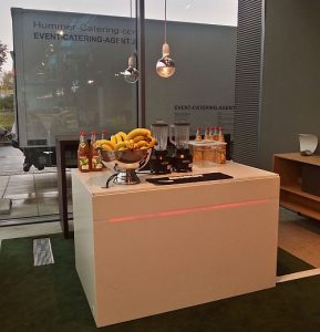mobile Smoothie-Bar catering service Köln Designpost Messe Deutz