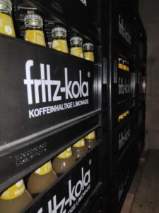 Getränke Lieferung Limonade Fritz Kola, Fritz Limonade