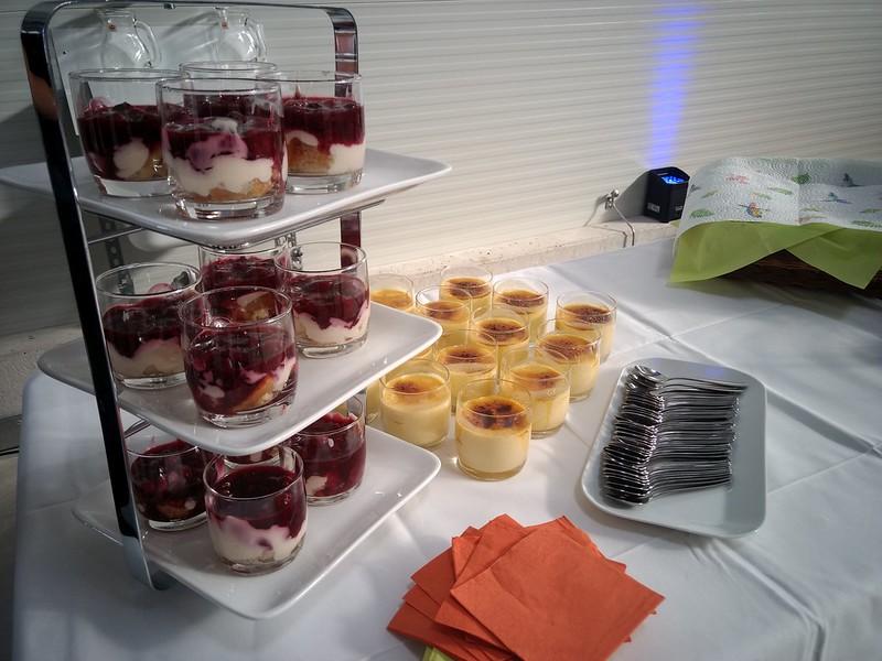 Dessert, Messe und Event Catering Agentur