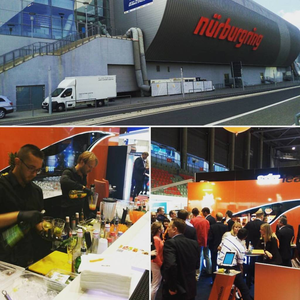 mobile Cocktailbar, Messe und Event Catering Agentur