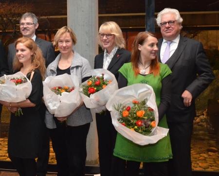 Ehrung der KulturPaten 2012 durch Bürgermeisterin Elfi Scho-Antwerpes