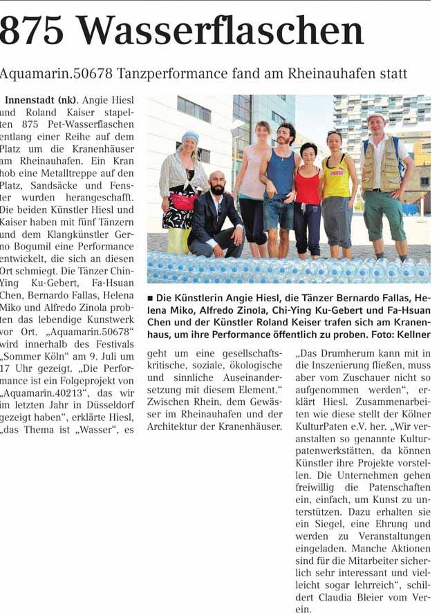 Kölner-Wochenspiegel. Juli 2015