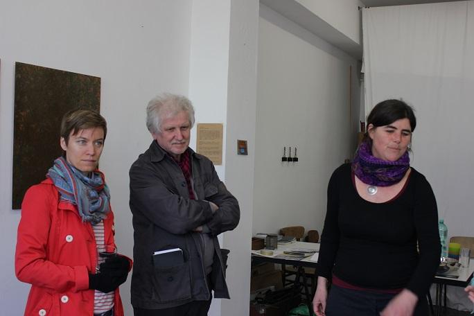 Isabel Österreich im Gespräch mit den Teilnehmerinnen