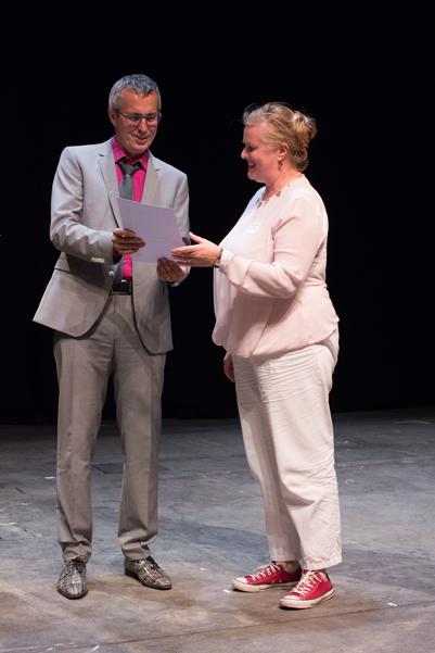 mit Anke von Heyl (Kultur Event Büro)
