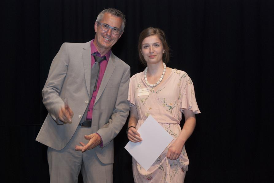 mit Nele van Olfen (Studentin der Kunstgeschichte)