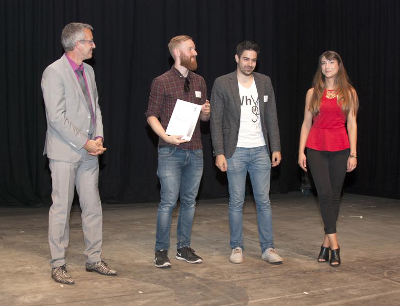 mit Christian Wonner, Lukas Liese, Isabelle Hölzer (Radikant GmbH)