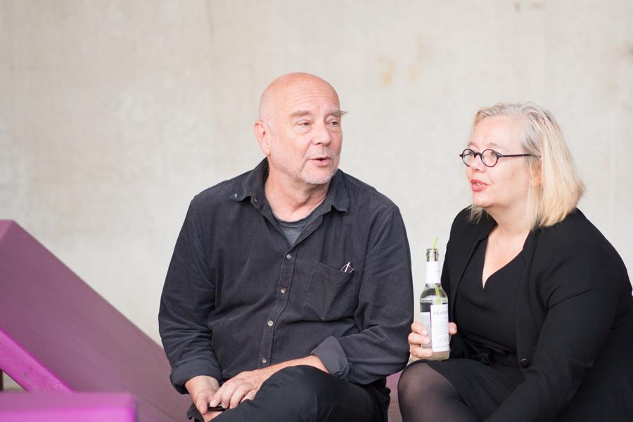 Sopranistin Nicola Müllers mit ihrem Pianisten Walter L. Mik