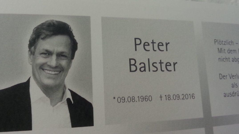 peter Balster (†)