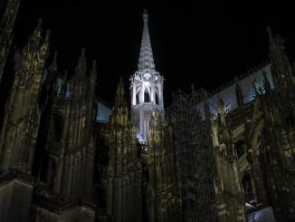 Der dritte Turm des Kölner Domes