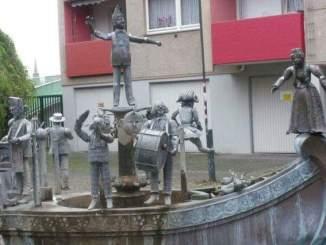 Der Karl Berbuer Brunnen