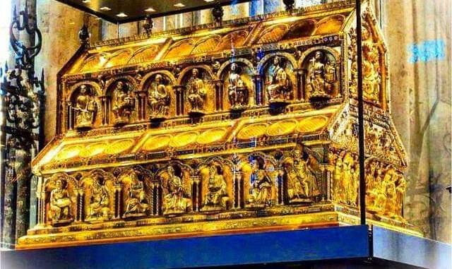 Schrein der heiligen drei Könige im Kölner Dom