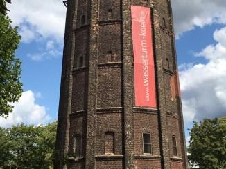 Der Wasserturm von Stammheim