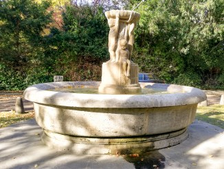 Der Puttenbrunnen in Marienburg
